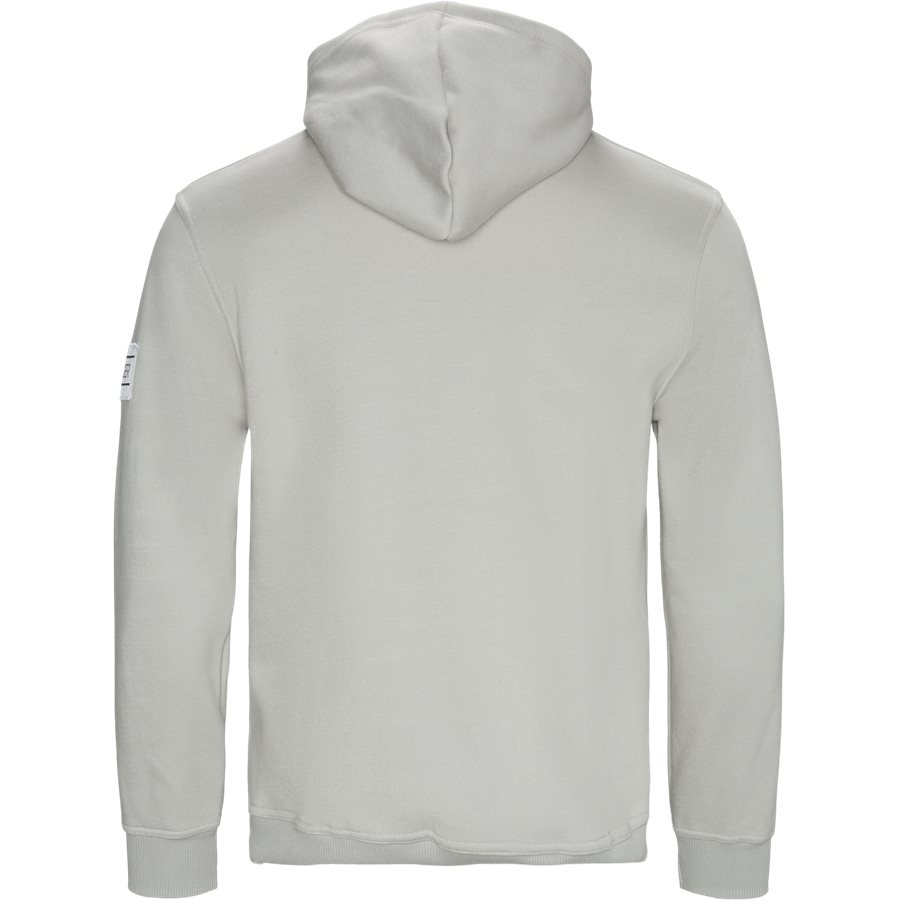 ULIVE - Ulive Hoodie - Sweatshirts - Regular - MID GREY - 2